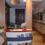 New exhibits inside Georgetown Visitor Center are reminiscent of the canal boat operations. Credit: C&O Canal Trust