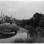 Tide lock after years of deterioration due to lack of maintenance and use. Photograph taken ca. 1940. Credit: National Park Service