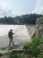 Fishing at Dam #4