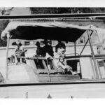 Children on canal boat, Georgetown, 1920