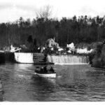 Upstream view, Lock 15, 1900