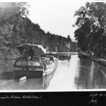 One mile below Antietam on the Canal, 1904