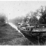 Consolidation Coal Co. boat #14 parked along Canal bank