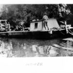 Canal bed mower