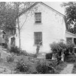 1938 photograph of Lockhouse 10 prior to the rehabilitation that would allow the house to be used as National Park Service housing for 60 years. Credit: National Park Service