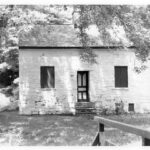 After the National Park Service no longer used the Lockhouse 8 for employee housing, the building was closed and shuttered until an agreement was reached with the Potomac Concervancy. Credit: Chesapeake & Ohio Canal National Historical Park