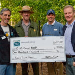 Less than a month after the breach, the C&O Canal Trust launched a $100,000 campaign for the repair of the towpath. Thanks to the support and generosity of the community, the campaign was a success. Funds paid for the geotechnical evaluation and design of repairs. Credit: Roy Sewall
