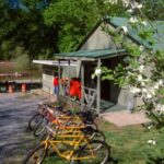 Rent bikes from the boathouse for an afternoon ride. Credit: Roy Sewall