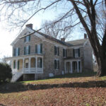 This grand house is one of over 50 houses that made up the Four Locks Community. Today, it stands as a reminder of those days. Credit: C&O Canal National Historical Park