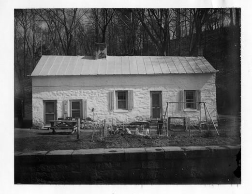 Lockhouse 21 c. 1975 Credit: C&O Canal National Historical Park