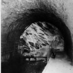Even though the canal was no longer in use for boat traffic, locals and canal enthusiasts still visited the Paw Paw Tunnel. Credit: National Park Service