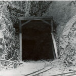 Indigo Tunnel was a single track tunnel in use by the railroad until 1975. In 1980, Indigo Tunnel was acquired by the National Park Service and is now part of the Chesapeake and Ohio Canal National Historical Park. The tunnel houses large colonies of bats and is currently closed to the public. Credit: National Park Service