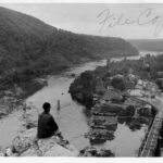 The view from Maryland Heights has barely changed over the years. Credit: National Park Service