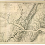 Fort Duncan is situated on Huckleberry Hill across the Potomac River from Bolivar Heights,WV. By July of 1863, the Barnard Line, a series of fortifications, was established to guard Harpers Ferry. Credit: C&O Canal National Historical Park