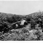The landscape that surrounds McCoys Ferry is wild and beautiful in this c.1900 photograph Credit: Chesapeake & Ohio Canal National Historical Park