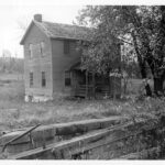 Lockhouse 26 was rented by a man by the last name of Jones before the C&O Canal became a park. Many of the people that were living in the lockhouses before the canal was acquired by the government were allowed to stay for a determined period of time. Credit: Unknown