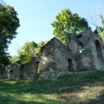 The ruins of St. Johns Episcopal Church which was once used as a hospital and barracks during the Civil War, still stand today. Credit: C&O Canal Trust