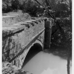 Fifteen Mile Creek with multiple coping stones missing from years of lack of maintenance. Credit: Chesapeake & Ohio Canal National Historical Park