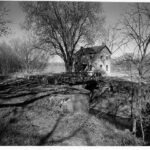 This photograph was taken of Lockhouse 26 in 1959 by J.E. Boucher to document the area for the NPS. By 1960 the lockhouse fell victim to arson and all that was left was the stone foundation. Credit: J.E. Boucher, NPS