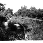 A 1941 view of the barrel of the Monocacy Aqueduct after the Federal Government acquired the C&O Canal, bringing the 184.5 miles under the authority of the Department of Interior. Credit: J. G. Lewis, Chesapeake & Ohio Canal National Historical Park