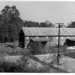 After the canal ceased operations the Cushwa Warehouse sat emtpy until the National Park Service would use the building to house their new Historic Preservation Training Center in 1977. Credit: Chesapeake & Ohio Canal National Historical Park