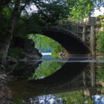Today, the Tonoloway Aqueduct is still a site worth seeing. Credit: Doug Zveare