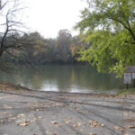 Boat Ramp upstream from Dam 4 provides Potomac River access to the Big Slackwater for modern boaters. Credit: C&O Canal National Historical Park