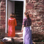 Rileys lockhouse is open for tours on Saturdays during the spring and fall. Local Girl Scouts in period dress guide visitors through the historic home. Credit: Chesapeake & Ohio Canal National Historical Park