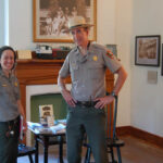 Do not forget to check out the interior of the house and say hello to the rangers! Credit: Chesapeake & Ohio Canal National Historical Park