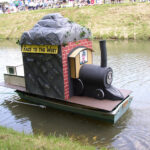 The annual Barge Bash, in nearby town of Hancock, brings fun and creativity to the spirit of the glory days of the canal. Credit: Chesapeake & Ohio Canal National Historical Park