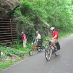 Caves along the Western Maryland Rail Trail and C&O Canal Towpath provide places to pause and ponder who or what may be inside! Credit: Department of Natural Resources
