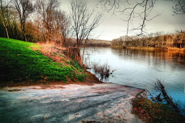 McCoys Ferry boat ramp by: MJ Clingan Photography