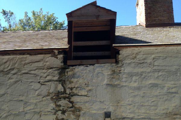 Pre-Rehab: The back window