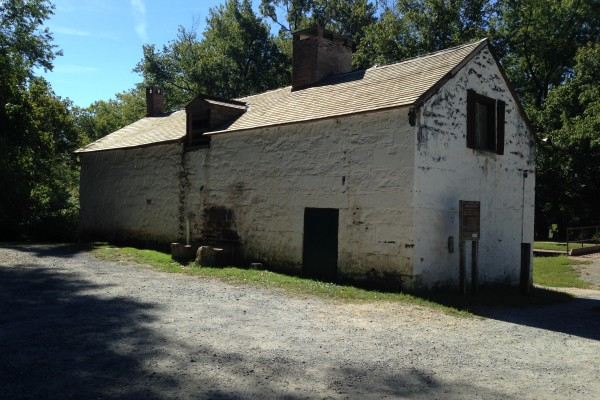 Pre-Rehab: The back of Swains Lockhouse