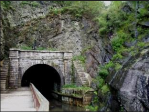 paw paw tunnel exterior color nps