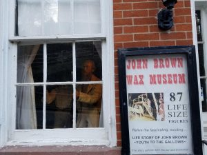 The John Brown Wax Museum, Photo by: Betsy Bainbridge