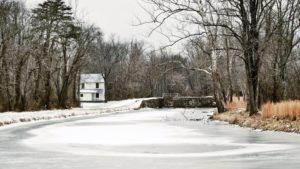 """December's Winner """"Lock 71 near Oldtown"""", Photo by Michelle Arrington"""