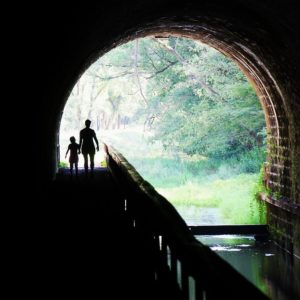 """May's Winner """"Walking Through the Paw Paw Tunnel"""", Photo by Brian Breighner"""