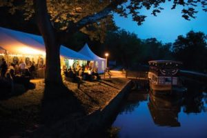 Park After Dark - Photo by the C&O Canal Trust