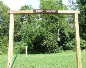 Brunswick Family Campground Bike Wash