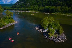 Tubers enjoying the river - Photo by David McMasters