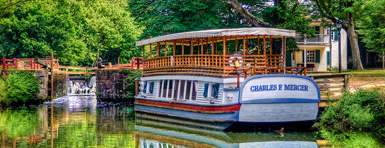 Charles F. Mercer Canal Boat by John Gensor