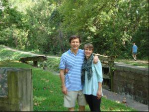 Mark Sauer and Marcia Carlson