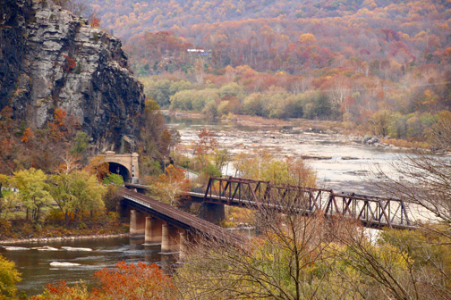 Harpers Ferry Foiliage - Kevin Donohoe