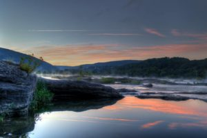 "April's Winner: ""Harpers Ferry Dawn"", by Tim Christy"