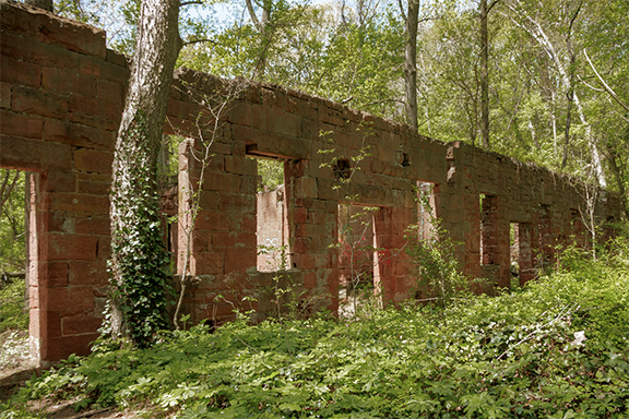 Ruins of Seneca Stone-Cutting Mill
