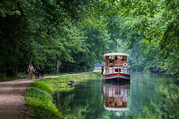 Charles F. Mercer Canal Boat