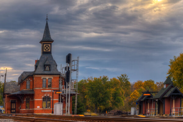 Point of Rocks, Maryland Train Station by John Gensor
