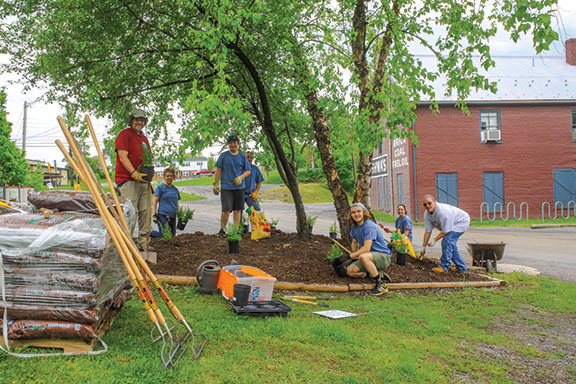 Canal Pride volunteers in Williamsport