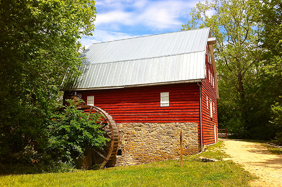 McMahons Mill by Nancy S. Mitchell